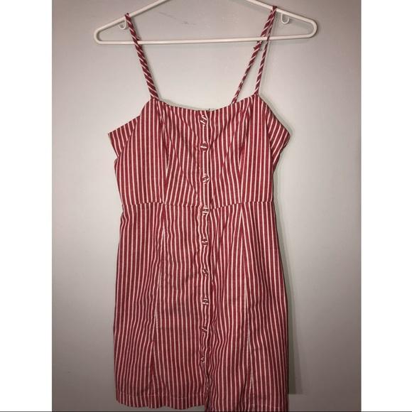 Stripped sun dress